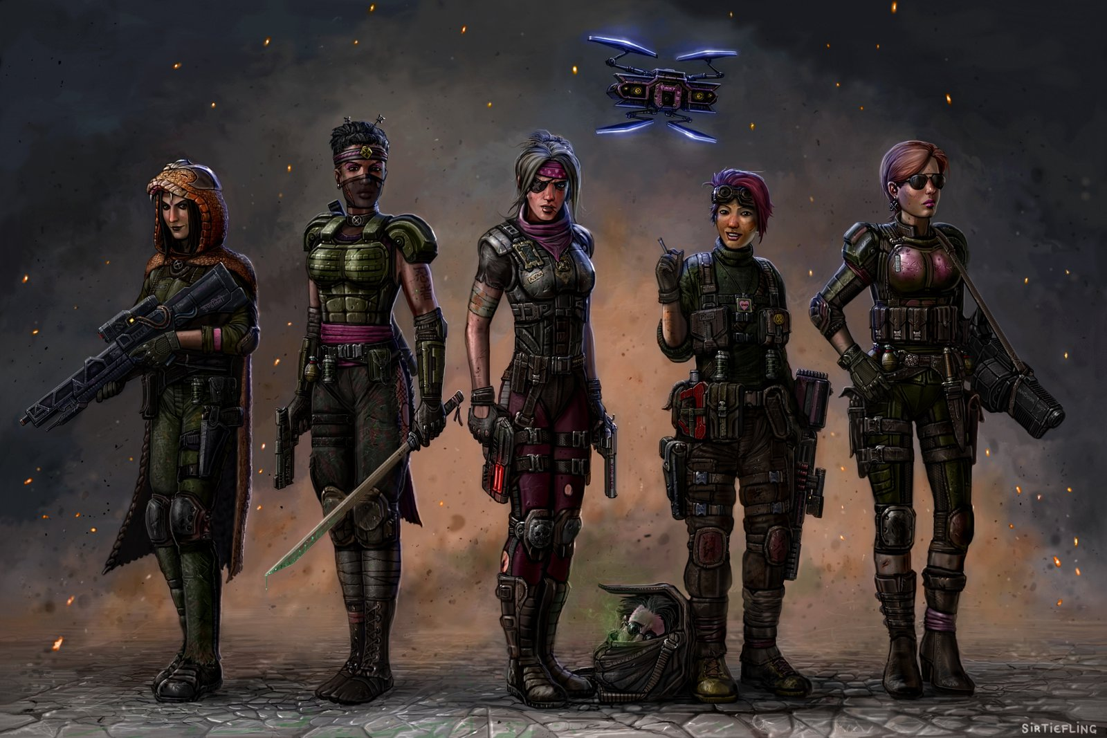 XCOM2 - The Pink Squad 2035 (by SirTiefling).jpg